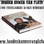 """Het boek """"Honden komen van Pluto"""" gratis bij Proteq-verzekering"""